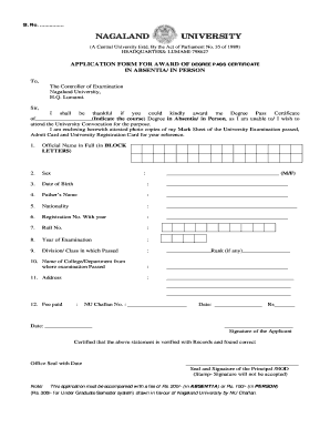 bachelor degree certificate template - Edit Online, Fill