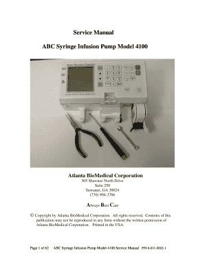 Graseby 3200 infusion pump service manual internetmed.