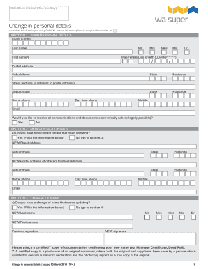 Editable Child Deed Poll Template Fill Out Print Download Court