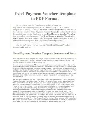payment voucher format