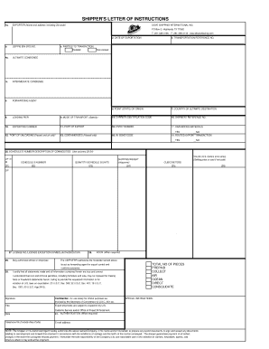 Editable shipping document template excel - Fill Out & Print