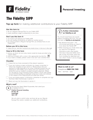 Fidelity sipp investment options