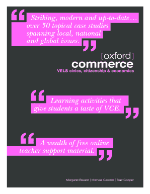 Fillable Online The story Oxford Commerce Fax Email Print - PDFfiller
