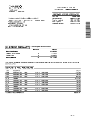 Fillable Online Re 072911 Chase Bankpdf Fax Email Print