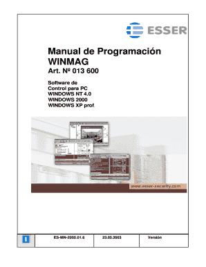 Manual configuracion Winmagdoc Fill Online, Printable, Fillable