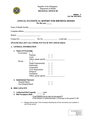 2014 2021 Form Ph Bh Stat Report Fill Online Printable Fillable Blank Pdffiller