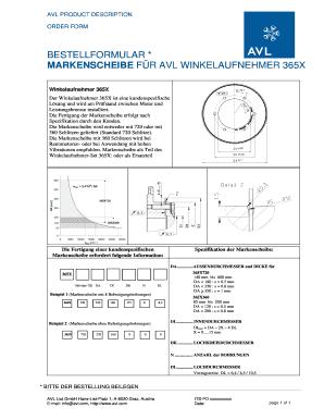 BESTELLFORMULAR MARKENSCHEIBE FR AVL - avlcom Fill Online, Printable ...