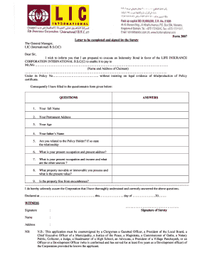 Lic Claim Form - Fill Online, Printable, Fillable, Blank ...