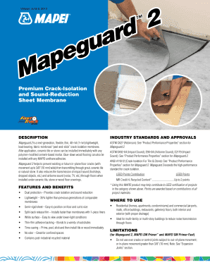 English Canada - Mapei Fill Online, Printable, Fillable
