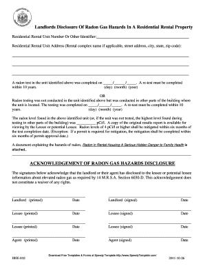 bill of sale form maine radon rental disclosure form. Black Bedroom Furniture Sets. Home Design Ideas