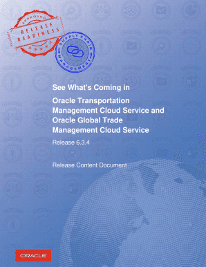 oracle fleet management user guide - Fillable & Printable