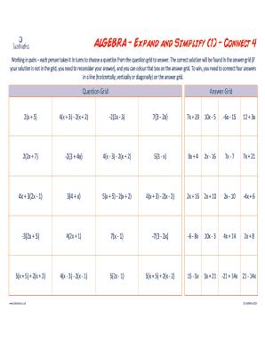 algebra simplifier - Edit, Fill, Print & Download Top