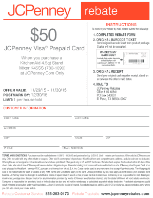 Rebate - JCPenney
