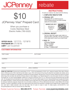 jcpenney rebate form cooks