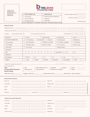 Rbl Bank Statement Fill Online Printable Fillable Blank Pdffiller