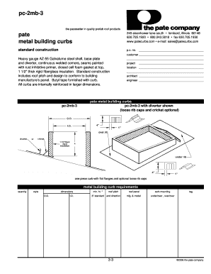 pate curbs Fillable Online Pc-2mb-3 - pate curbs Fax Email Print - PDFfiller