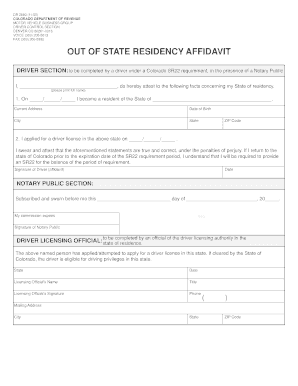 Bill of sale form colorado out of state residency affidavit form bill of sale form colorado out of state residency affidavit form altavistaventures Image collections