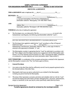 sample contract between two parties