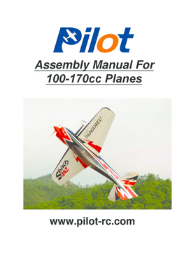 Fillable Online Assembly Manual For 100-170cc Planes - Chief