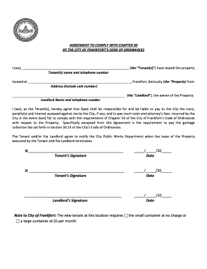 Connecticut Landlord Tenant Lease Agreement Fillable