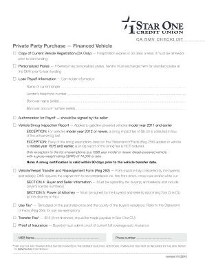 Fillable Vehicle/vessel transfer and reassignment form - Edit ...