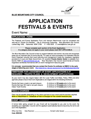 Festival and Events Application