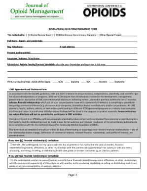 Recommendation letter for faculty position example forms and please click here to access the icoo 2016 faculty disclosure form opioidconference expocarfo Choice Image