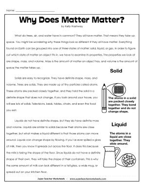 why does matter matter fill online printable fillable blank pdffiller. Black Bedroom Furniture Sets. Home Design Ideas